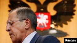 Ministri i jashtëm rus, Sergei Lavrov, (Ilustrim)