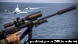 Военные учения «Си Бриз». Одесса, июль 2018 года