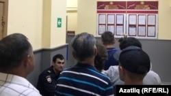 Коридор миграционной службы в Казани