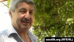Uzbek poet Odil Ikrom