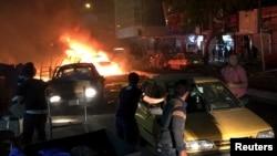 Бомбашкиот напад во Багдад