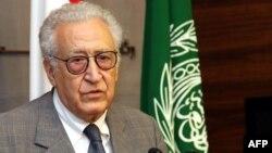 Международный посланник по Сирии Лахдар Брахими