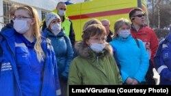 Сотрудники скорой помощи, Мурманск