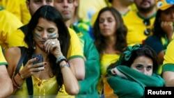 Бразильські вболівальники плачуть