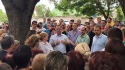Мини-майдан в Феодосии: борьба за сквер у школы №13
