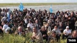 Дуа (молитва) крымских татар, Турецкий вал, 3 мая 2014 года