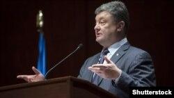 Петро Порошенко під час візиту в США (©Shutterstock)