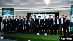 На церемонии награждения лучших игроков национальных команд 2010 года