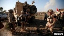 Իրաքի զինված ուժերը Մոսուլի մատույցներում, 7-ը նոյեմբերի, 2016թ․