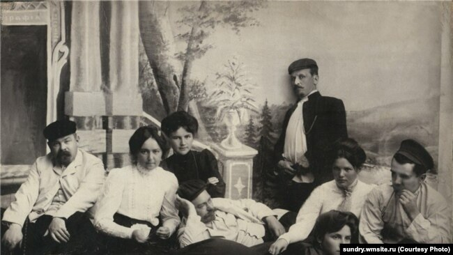 Купеческая семья в Кузнецке