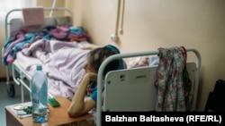 Пациентка хосписа в Алматы. Иллюстративное фото.