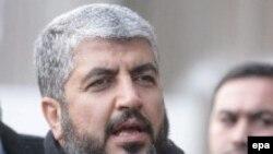 Политический лидер ХАМАС Халед Мишаль после приземления в Москве