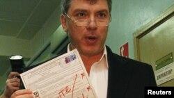 Оппозициялык лидер Борис Немцов шайлоого каршылык билдирди.