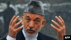 "Afghan President Hamid Karzai: ""Much-needed relief"""