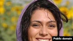 Iranian actress and blogger Pegah Ahangarani