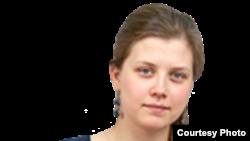 Журналист Елизавета Сурганова