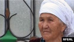Мать-героиня Нургайша Нугуманова, жительница села Оргусак Алматинской области. Май 2010 года.