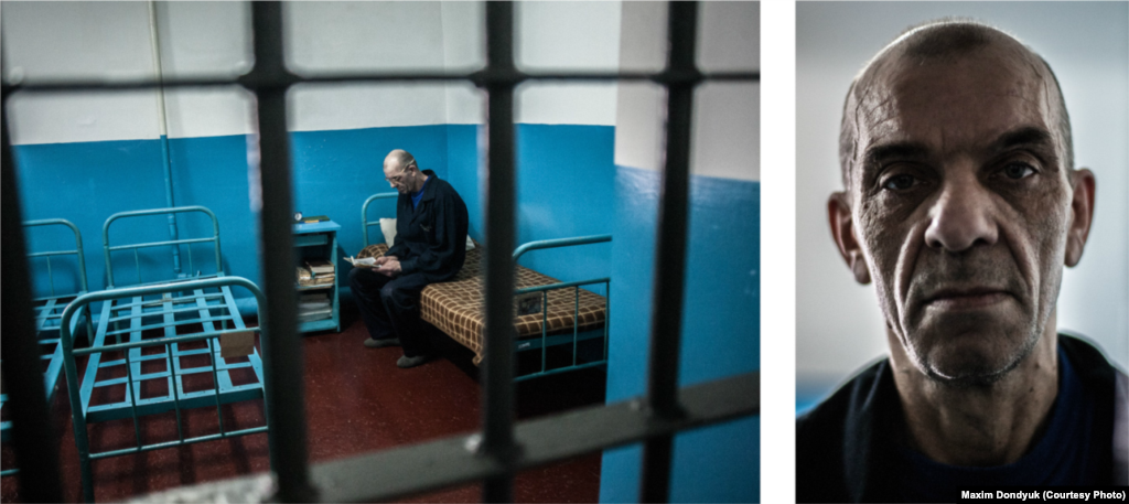 In July 2011, Vasyl was a 52-year-old serving a life term for murder at Kherson Corrections Colony #61. He has MDR TB. This is his third prison term. He spends much of his time caring for his cellmate, who was paralyzed following a stroke.