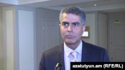 Armenia - Indian Ambassador Yogeshwar Sangwan, 22 June 2017.