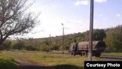 Военная машина на оккупированой части Донбасса (фото автора)