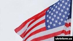 Ukraine -- Ukraine USA flag, flags, undated