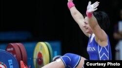 Казахстанская спортсменка Светлана Подобедова.