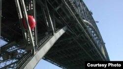 """""""Красный шар"""" в Портленде. Фото с сайта redballproject.com"""