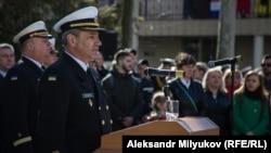 Командувач Військово-морськими силами ЗС України Ігор Воронченко