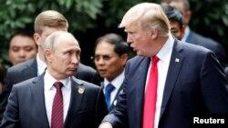 Владимир Путин һәм Дональд Трамп