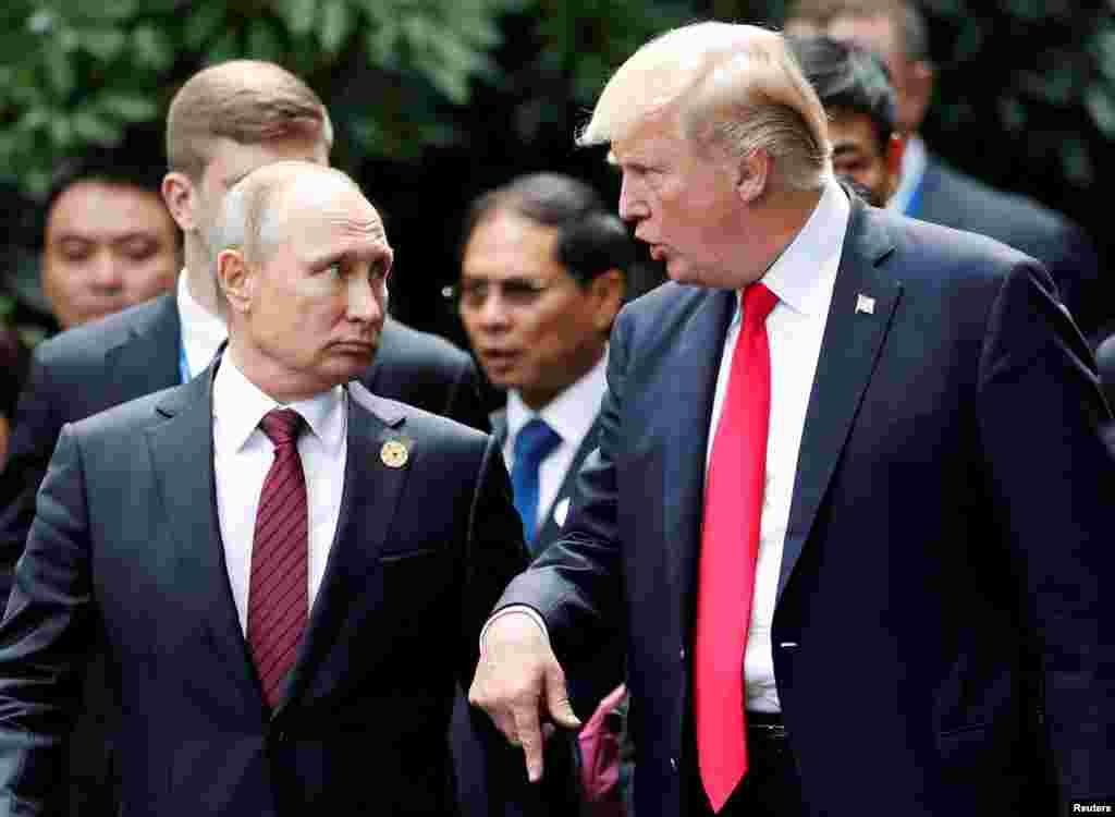 САД / РУСИЈА - Американскиот претседател Доналд Трамп најави брза и енергична акција како одговор на сомневањата за нападот на хемиско оружје во Сирија. Во истовреме Русија предупреди на сериозни последици доколку дојде до западни воздушни удари врз Сирија.