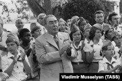 """Поездка Леонида Брежнева в """"Артек"""", 1979 год"""