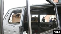 Жертвами взрыва машины в Назрани вчера вечером оказались родственники оппозиционера Макшарипа Аушева