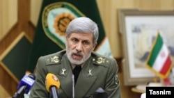 FILE - Iranian Defense Minister Amir Hatami.