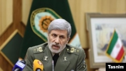 Iranian Defense Minister Amir Hatami. FILE PHOTO