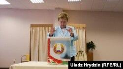 Старшыня ЦВК Лідзія Ярмошына, архіўнае фота