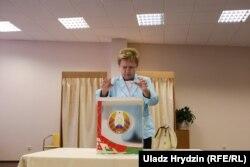 Старшыня ЦВК Лідзія Ярмошына