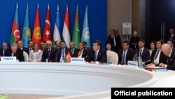 The Turkic Council was established in 2009 with Azerbaijan, Kazakhstan, Kyrgyzstan, and Turkey as the group's founding members. Uzbekistan applied for membership in September.