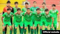 Молодежная сборная Таджикистана по футболу. Фото с сайта ФФТ