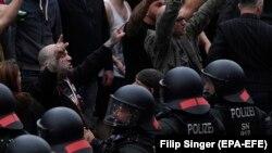 Nasilni protesti krajnjih desničara (Chemnitz, 25. avgust 2018)