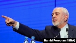 Iranian Foreign Minister Mohammad Javad Zarif was attacked by conservatives at home for his comments.