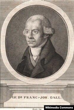 Франц Йозеф Галль (1758–1828). Гравюра Франсуа Марадана