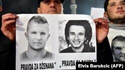 Protest i traženje istine za Dženana Memića i Davida Dragičevića, Sarajevo, februar 2016.