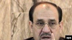 آقای مالکی مفاد توافقنامه را ناقض حاکمیت عراق عنوان کرده است. (عکس از epa)