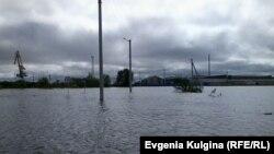 Село превратилось в озеро