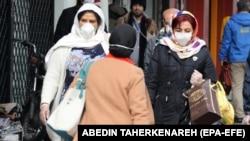 Тегерандын көчөсү. 26-февраль, 2020-жыл.