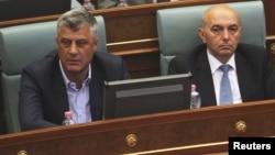 Presidenti Hashim Thaçi dhe kryeministri Isa Mustafa