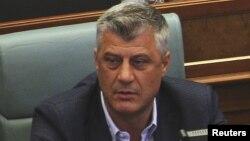 Косово сыртқы істер министрі Хашим Тачи.