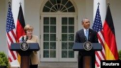 На прес-конференції в Білому домі, Вашингтон, 2 травня 2014 року
