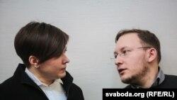Тацяна Караткевіч і Андрэй Дзьмітрыеў, архіўнае фота