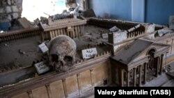 Шаҳри таърихии Палмира ҳоло ба вайрона табдил шудааст